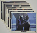 Batman <p><a> Set of 8 Original Colour Front Of House Stills / Lobby Cards  </i></p>