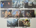 BLACK RAIN Cinema Set of Colour FOH Stills / Lobby Cards