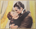 GONE WITH THE WIND (Card 1) Cinema Set of Colour FOH Stills / Lobby Cards