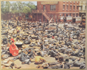 GONE WITH THE WIND (Card 8) Cinema Set of Colour FOH Stills / Lobby Cards