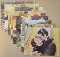 Gone With The Wind <p><a> Set of 8 Original Colour Front Of House Stills / Lobby Cards  </i></p>