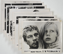 I, A VIRGIN (Full View) Cinema Set of FOH Stills / Lobby Cards