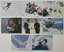 SKY RAIDERS Cinema Set of Colour FOH Stills / Lobby Cards