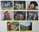 TREASURE ISLAND Cinema Set of Colour FOH Stills / Lobby Cards
