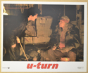U-TURN (Card 2) Cinema Set of Colour FOH Stills / Lobby Cards