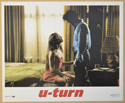 U-TURN (Card 6) Cinema Set of Colour FOH Stills / Lobby Cards