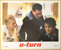 U-TURN (Card 7) Cinema Set of Colour FOH Stills / Lobby Cards