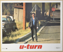 U-TURN (Card 8) Cinema Set of Colour FOH Stills / Lobby Cards
