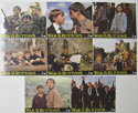 WAR OF THE BUTTONS Cinema Set of Colour FOH Stills / Lobby Cards