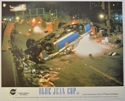 BLUE JEAN COP (Card 2) Cinema Set of Colour FOH Stills / Lobby Cards