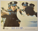 BLUE JEAN COP (Card 4) Cinema Set of Colour FOH Stills / Lobby Cards