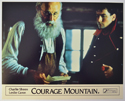 COURAGE MOUNTAIN (Card 2) Cinema Set of Colour FOH Stills / Lobby Cards