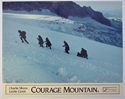 COURAGE MOUNTAIN (Card 3) Cinema Set of Colour FOH Stills / Lobby Cards