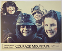 COURAGE MOUNTAIN (Card 5) Cinema Set of Colour FOH Stills / Lobby Cards