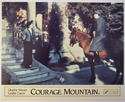COURAGE MOUNTAIN (Card 6) Cinema Set of Colour FOH Stills / Lobby Cards
