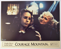 COURAGE MOUNTAIN (Card 7) Cinema Set of Colour FOH Stills / Lobby Cards