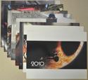 2010 : THE YEAR WE MAKE CONTACT Cinema Lobby Card Set