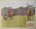 AFRICA: TEXAS STYLE (Card 1) Cinema Lobby Card Set