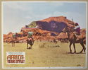 AFRICA: TEXAS STYLE (Card 2) Cinema Lobby Card Set