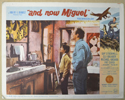 AND NOW MIGUEL (Card 5) Cinema Lobby Card Set