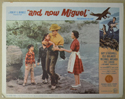 AND NOW MIGUEL (Card 7) Cinema Lobby Card Set