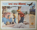 AND NOW MIGUEL (Card 8) Cinema Lobby Card Set