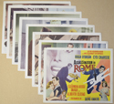 Assassination In Rome <p><i> Set Of 8 Cinema Lobby Cards </i></p>