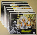 Borsalino <p><i> Set Of 8 Cinema Lobby Cards </i></p>