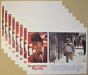 Bright Lights Big City <p><i> Set Of 8 Cinema Lobby Cards </i></p>