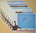 Daring Game <p><a> Set Of 8 Cinema Lobby Cards </i></p>