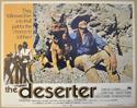 THE DESERTER (Card 1) Cinema Lobby Card Set