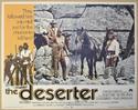 THE DESERTER (Card 2) Cinema Lobby Card Set