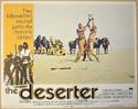 THE DESERTER (Card 6) Cinema Lobby Card Set