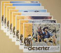 Deserter (The) <p><a> Set Of 8 Cinema Lobby Cards </i></p>