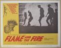 FLAME AND THE FIRE (Card 1) Cinema Lobby Card Set