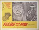 FLAME AND THE FIRE (Card 2) Cinema Lobby Card Set