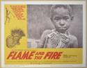 FLAME AND THE FIRE (Card 3) Cinema Lobby Card Set