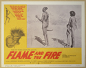 FLAME AND THE FIRE (Card 4) Cinema Lobby Card Set