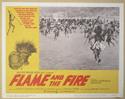 FLAME AND THE FIRE (Card 5) Cinema Lobby Card Set