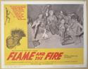 FLAME AND THE FIRE (Card 6) Cinema Lobby Card Set
