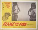 FLAME AND THE FIRE (Card 8) Cinema Lobby Card Set