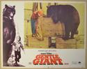 GENTLE GIANT (Card 1) Cinema Lobby Card Set
