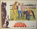 GENTLE GIANT (Card 3) Cinema Lobby Card Set