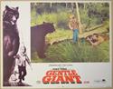 GENTLE GIANT (Card 4) Cinema Lobby Card Set
