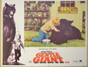 GENTLE GIANT (Card 7) Cinema Lobby Card Set