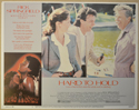 HARD TO HOLD (Card 1) Cinema Lobby Card Set