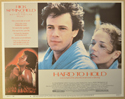 HARD TO HOLD (Card 5) Cinema Lobby Card Set