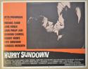 HURRY SUNDOWN (Card 1) Cinema Lobby Card Set