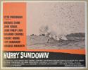 HURRY SUNDOWN (Card 3) Cinema Lobby Card Set