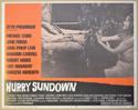 HURRY SUNDOWN (Card 4) Cinema Lobby Card Set